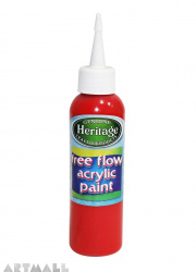 Free Flow Acrylic 120 ml Red
