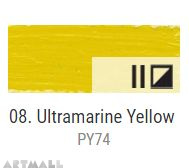 Oil for ART, Ultramarine yellow 20 ml.