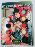 Art Heroes Paint Kit, Hibiscus Prince