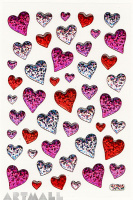 "Stickers ""Hearts"""