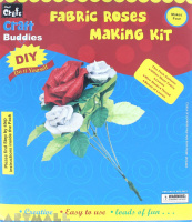 DIY Fabric Rose Making Kit