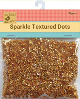Sparkle Dots Yellow 30gms