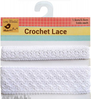 Lace Trim White 2mtr