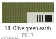 EXTRA Oil paint , Olive green earth, 20 ml