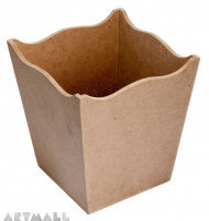 Waste Bin Scalloped - Small