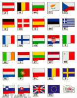 "Stickers ""World Flags"""