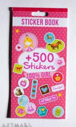 Sticker book +500 Girl