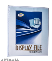 "Display file 2"", 2 ring binder"