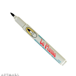 Le Plume Permanent marker, quick drying ink, Pale Yellow