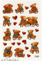 "Stickers ""Teddy - Bears"""