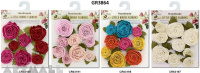 Layla Roses pack of 9 pcs, 4 types assorted
