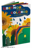 "Colored cardboard set ""Sunflowers"""