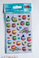 "Stickers ""Fancy owl"""