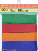 Satin Ribbons 1inch Bright 8Mtr