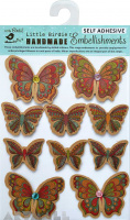 Craft printed Butterflies 10pcs