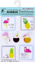 3D Topper Pineapple & Flamingos 7Pcs