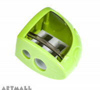 96139- Sharpener Triangle , Green, size: 4.5 cm