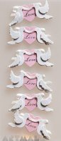 "3D Stickers ""Love"""