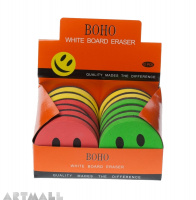 Board Eraser Happy facce big (box12)