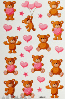 "Stickers ""Teddy Bear"""