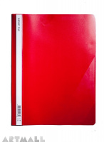 5718- Report file A4, red color