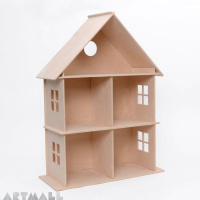 3D wooden puzzle - dollhouse