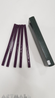 Box 10 wax sticks color Violet
