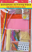 Bonanza Activity Pack Fun With Sticks & Bits Over 250pc