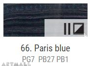 Oil for ART, Paris blue 20 ml.
