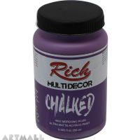 CHALKED ACRY.PAINT-250ML - PLUM