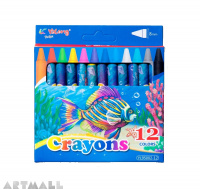 "95002-12- ""Crayons"" 12 colors"