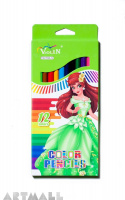 77006-12 color pencils, green