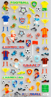 "Stickers ""Young Football Player"""
