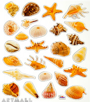 "Stickers ""Shells"""