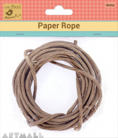 Paper Rope Brown 4mtr
