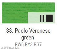 Oil for ART, P. Veronese green 140 ml