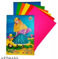 "Color cardboard set ""Wonderland"""