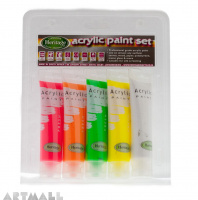 Acrylic Paint Set Fluorescent