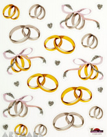 "Stickers ""Wedding rings"""