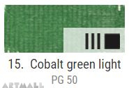 EXTRA Oil paint , Cobalt green pale, 20 ml