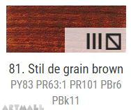 Oil for ART, Stil de grain brown 60 ml.