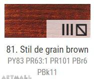 Oil for ART, Stil de grain brown 60 ml.
