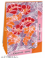 "Notepad ""Creative Ideas"", color Saffron"