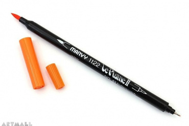 Le Plume II Double-Sided Watercolor Marker, №87 Pumpkin
