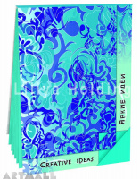"Notepad ""Creative Ideas"", color Turquoise"