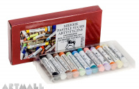 Cardboard box, 12 assorted Soft Pastels