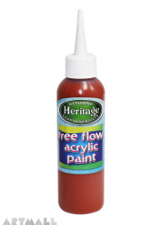 Free Flow Acrylic 120 ml Red Oxide