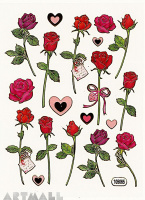 "Stickers ""Roses"""