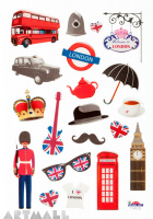 "Stickers ""Welcome to London"""