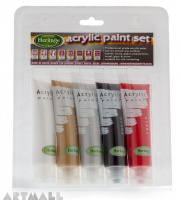 Acrylic Paint Set Metallic